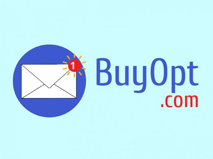 BuyOpt is a great domain name for an email list building or lead generation service, or social selling app for other peoples things similar to LetGo.